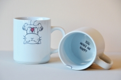 mug funny cat - modèle 1