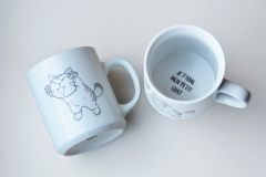 mug funny cat - modèle 2