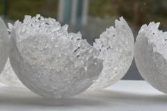 installation en pâte de verre